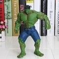 1 peça 26 cm frete grátis super hero the avengers filme hulk figuras de ação brinquedos pvc modelo dolls movable