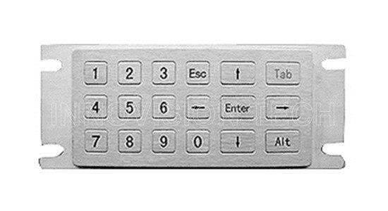 Waterproof Metal Password Keyboard Anti-corrosion OEM/ODM Available