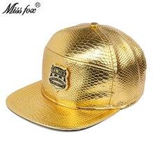 Missfox Hip Hop moda Gangsta dinero y poder respeto ala plana patrón de  cocodrilo oro para hombre sombreros y gorras edcce77e7f4