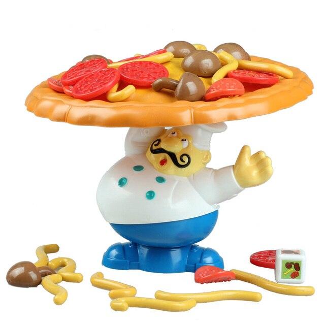 Chef Cocina Pizza Torre Balance Juego De Mesa En Juegos De Mesa De