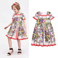 New Arrive 2016  monsoon  girls dress baby sundress vestidos babymmclothes kids-party-dresses-for-girls TY235