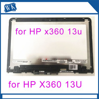 13.3'' 1366P LCD Screen Digitizer Assembly For HP Pavilion X360 13 U