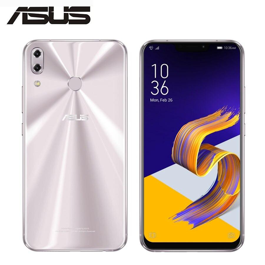 ASUS ZenFone 5 ZE620KL мобильный телефон с двумя sim картами, ОЗУ 4 Гб, ПЗУ 64 ГБ, 12 Мп + 8 Мп, 6,2 дюйма, полный экран 1080x2246, Android 8,0
