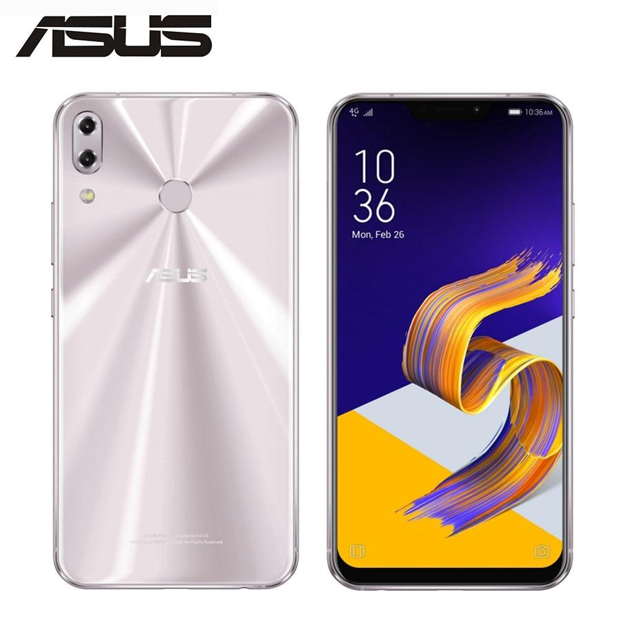 ASUS ZenFone 5 ZE620KL Global Mobile Phone Dual SIM OctaCore 12MP + 8MP 64 4 GB RAM GB ROM 6.2 polegada de Tela Cheia 1080x2246 Android 8.0