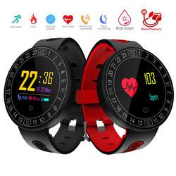 Q8 плюс Смарт-часы браслет Heart Rate крови Давление монитор спортивный смарт-браслет отслеживания движения Водонепроницаемый Bluetooth группа