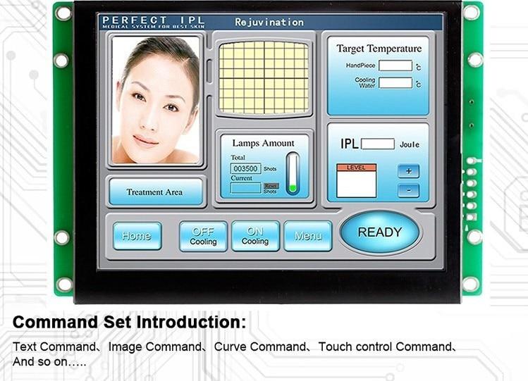 5 дюймов ЖК дисплей Экран Дисплей с разнообразием шрифтов и графических Дисплей - 2