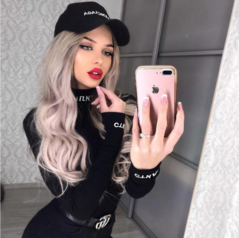 High Neck Letters Embroidery Long Sleeve 2019 Spring Women New Fashion Bodycon Bodysuit Sexy Party Club Body