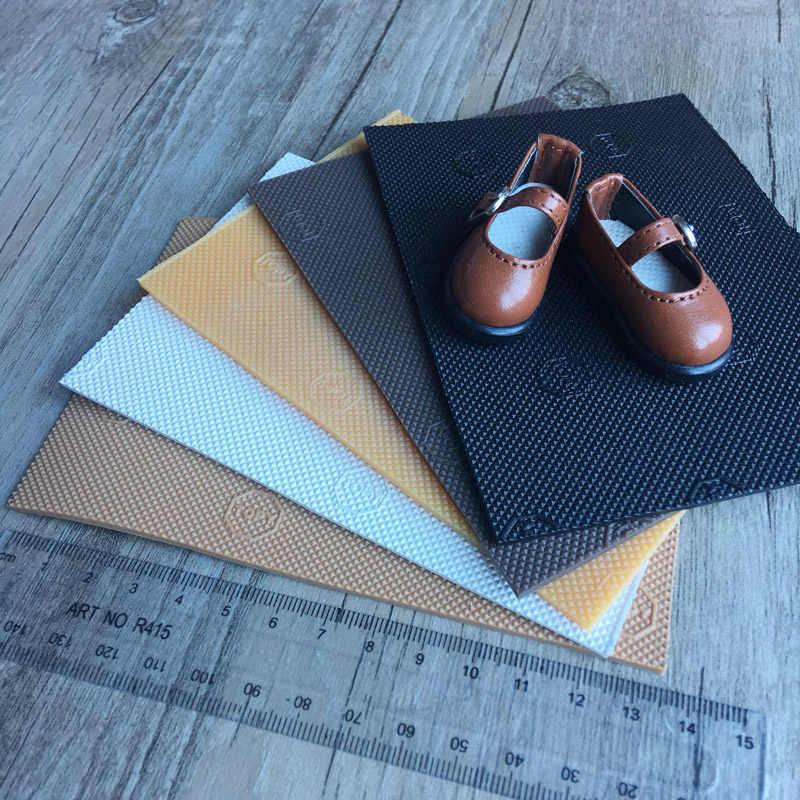 Blyth 1 PCS DIY 1/6 1/4 SD BJD Boneca Sapatos Único Material de Acessórios