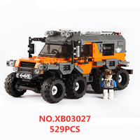 City Car Series 03027 Model All Terrain Vehicle Building Blocks Educational Bricks Toys Gift For Children Compatible With Legoed