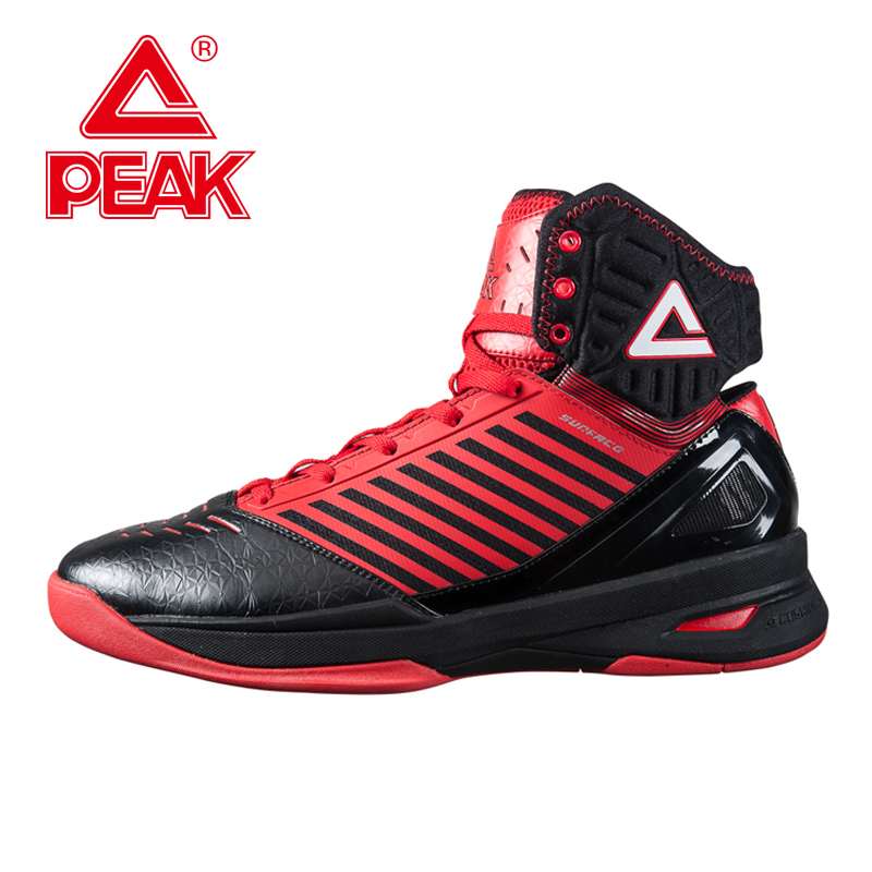 PEAK New Original Men Basketball Shoes Breathable Outdoor Sports Athletic Shoes patos Hombre Autumn Ankle Boots Sneakers peak sport hurricane iii men basketball shoes breathable comfortable sneaker foothold cushion 3 tech athletic training boots