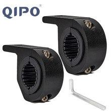 QIPO 2x Универсальный держатель Morbiker Bull кронштейн для крепления противотуманного вождения светильник Точечный светильник зажим Кронштейн для автомобиля мотоцикла защита от Краш