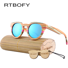RTBOFY Women Wood cat eye sunglasses pure handmade bamboo wooden sunglasses sunglasses 2017 new vintage Polarized glasses CA05