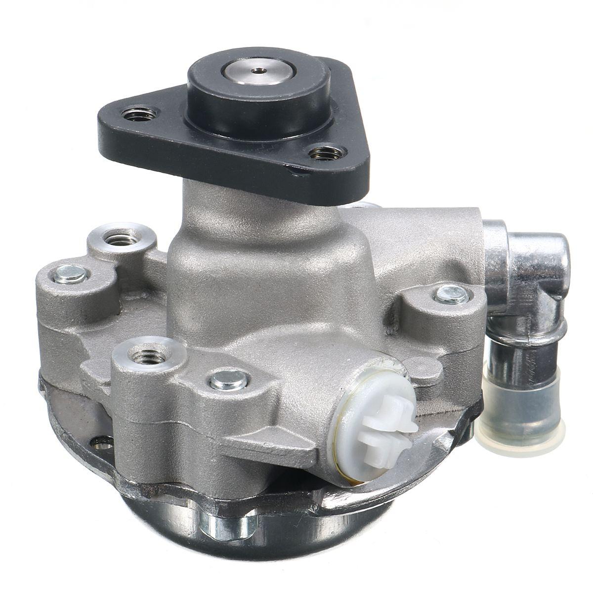 Aluminum Power Steering Pump Engine For BMW E46 323Ci 323i 325Ci 325i 328Ci 328i 330Ci 330i 3.0L 2002 2003 2004 2005 2006 new power steering pump for bmw 325ci 325xi 330ci 330i 330xi 2 5l 3 0l dohc