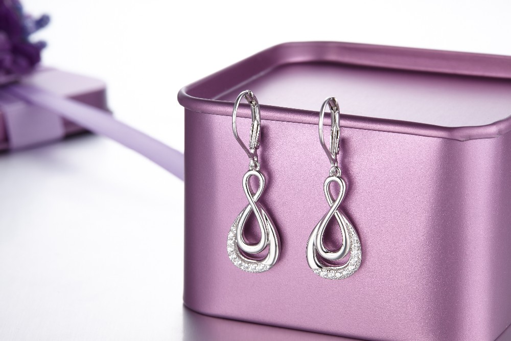 Real-925-Sterling-Silver-dangle-earring-for-women-Engagement-CZ-Diamond-for-Women-Wedding-Jewelry-making-100% (10)
