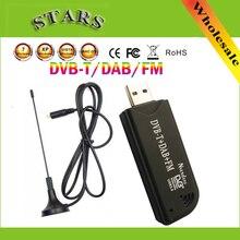 USB2.0 dab fm dvb-t RTL2832U R820T2 SDR RTL-SDR Dongle Придерживайтесь цифровой ТВ-тюнер приемник ИК-пульт дистанционного управления с Телевизионные антенны, дропшиппинг