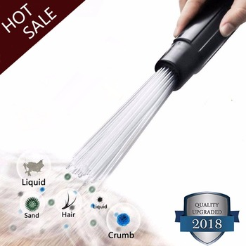 Universal Vacuum cleaner parts Dust Cleaner Straw Tubes Dirt Remover Suction brush for Air Vents Keyboards  dyson  philips