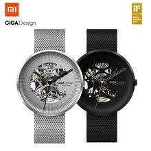 Xiaomi CIGA Дизайн моей серии Механические часы Модные Роскошные Кварцевые часы Для мужчин Для женщин если Дизайн Золотая награда Дизайн er бренд