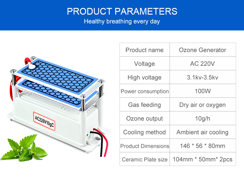 ATWFS 220v Air Purifier and Ozone Generator for Home Sterilization for Fresh and Healthy Breathing 9