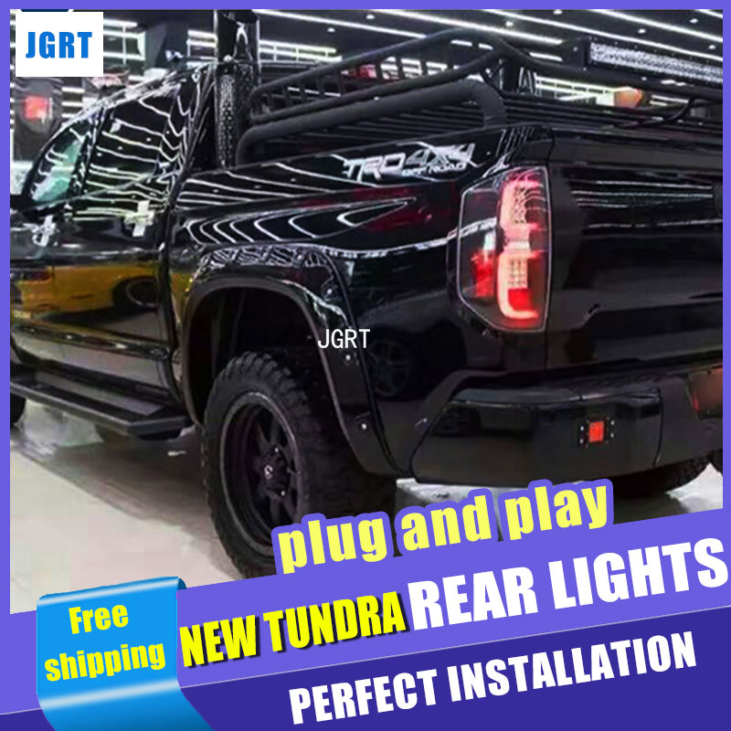 car styling For Toyota New Tundra taillight assembly 2014 2018 for New Tundra rear light dedicated