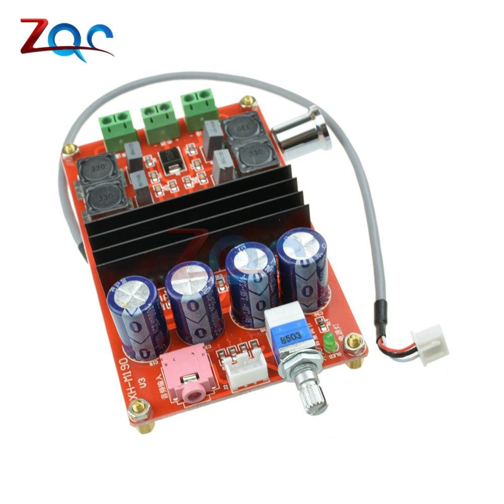 2x100 Watt XH-M190 TPA3116 D2 Dual Channel Digital Audio Verstärkerplatine für Arduino TPA3116D2 Zwei Channel Module 100 watt + 100 Watt 12-24 V