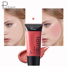 купить 4 Colors Pudaier Long Lasting Liquid Easy To Wear Moisturizing Blush Waterproof Silky Brighter Pink Peach Face Cream Blushes дешево