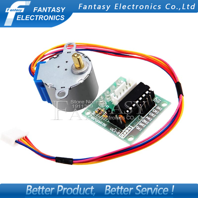 1pcs 5V 4-Phase Stepper Step Motor + Driver Board ULN2003 with drive Test Module Machinery Board for Arduino new