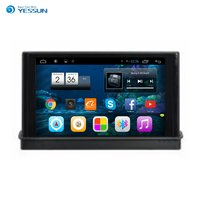 YESSUN Araba Android Media Player Sistemi Radyo Stereo GPS Navigasyon Multimedya Ses Video Audi Yeni A3 2014-2016 Için