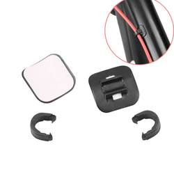 Новый Открытый велосипед тормоза гидравлического масла кабель руководство установки линии трубки Корпус базы клип горный велосипед