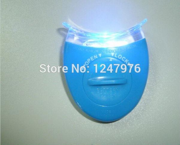 free shipping 1 pcs Mini Home Use Blue LED Teeth Whitening Light for care Dental tooth whiten Bleaching Accelerator