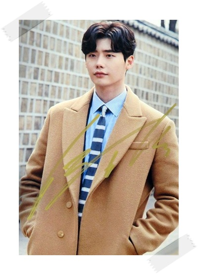 Signed Lee Jong Suk  Autographed  photo While You Were Sleeping 4*6 free shipping  6 versions K-POP 102017A баскетбольные кроссовки air jordan aj5 space jam 136027 440892 115