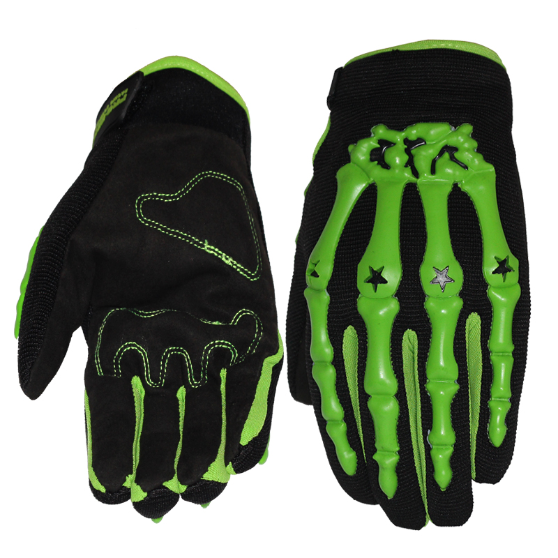Loving Sports Store Fashion New Motorcycle Gloves Full Finger Motorbike Motocross Soft Slip Shell Buffer Bones Design Protective Gear Glove For Men
