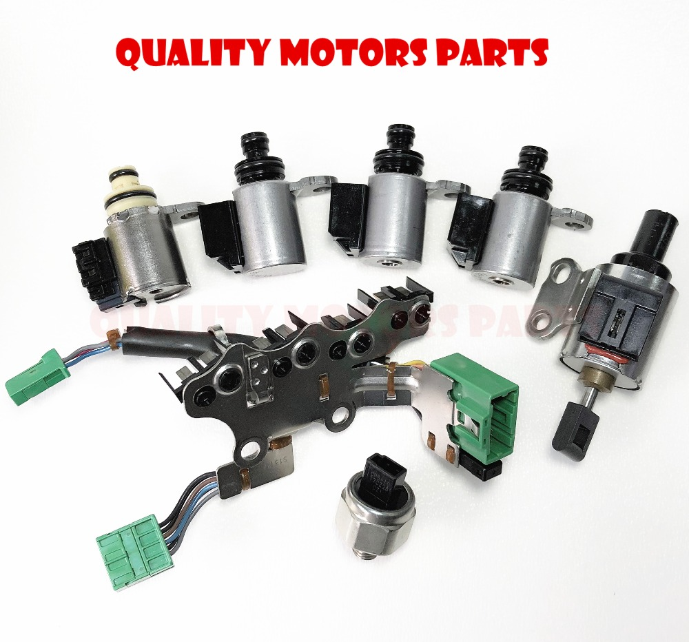 US $110 33 8% OFF|CVT Transmission Solenoids Kit,stepper motor,oil pressure  sensor with wire JF011E/RE0F10A/F1CJA RE0F10E for Nissan Mitsu Dodge-in