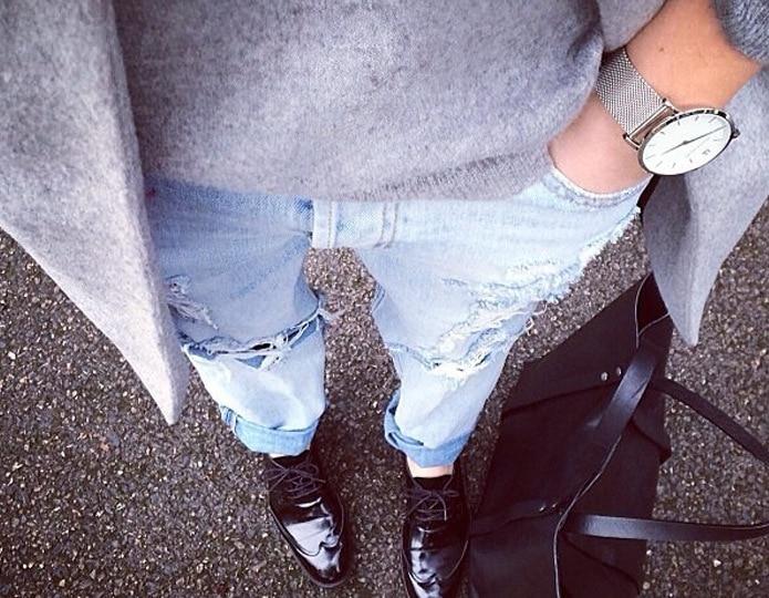 Европейский стиль, женские джинсы, летняя мода, уличная одежда с большим отверстием, новинка, тонкие, полная длина, рваные джинсы, женские брюки-карандаш, 0093