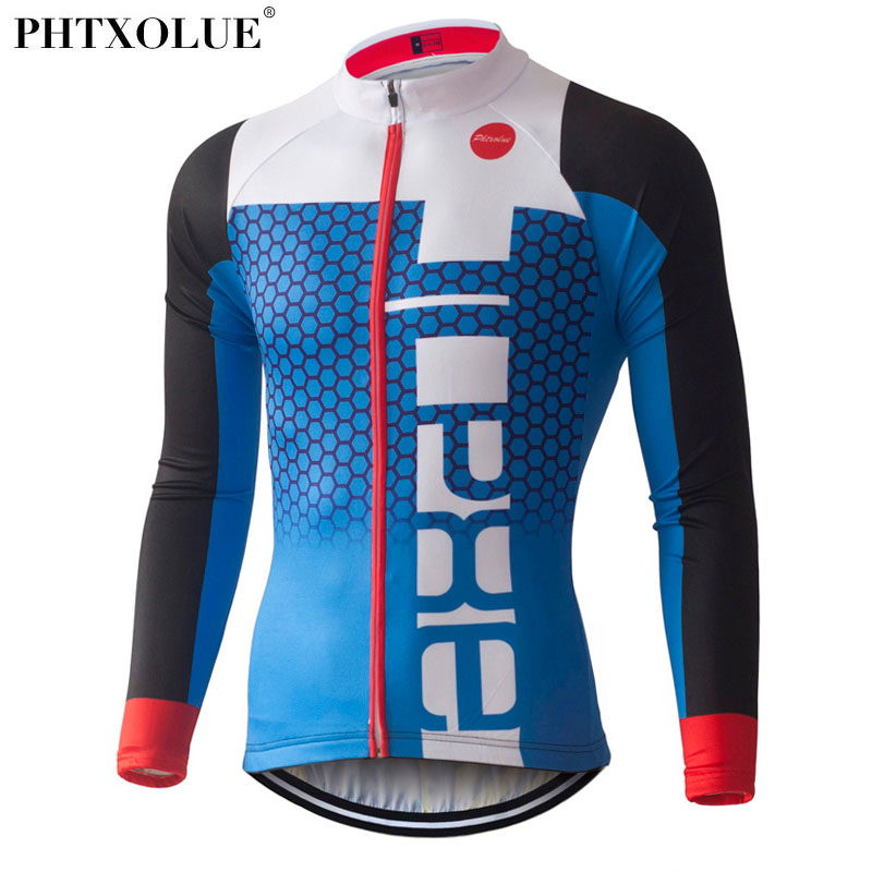 PHTXOLUE Pro Cycling Jerseys 2017 Long Sleeve Mountain Bike Clothing Wear Ropa Ciclismo Summer Cycling Clothing Men 2017 spring summer cycling jersey women long sleeve mountain biking jerseys shirt outdoor sports clothing ropa ciclismo santic
