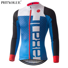 PHTXOLUE Pro Cycling Jerseys 2017 Long Sleeve Mountain Bike Clothing Wear Ropa Ciclismo Summer Cycling Clothing Men