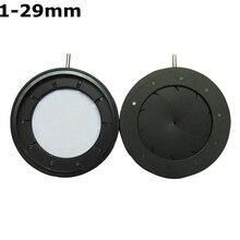 Wholesale prices Durable 1-29mm Amplifying Diameter Metal Zoom Adjustable Optical Iris Diaphragm Aperture Condenser for Digital Camera Microscope