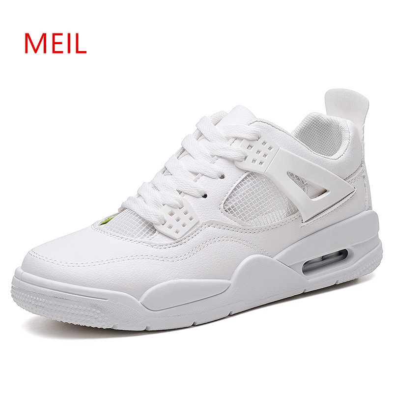 Hommes Respirant Tenis 2018 En Mesh Mens Sneakers Adulto 1 Formateurs 3 Masculino Mode 2 Nouveau up Casual Blanc Cuir Sport Dentelle Chaussures rdxBWCeo