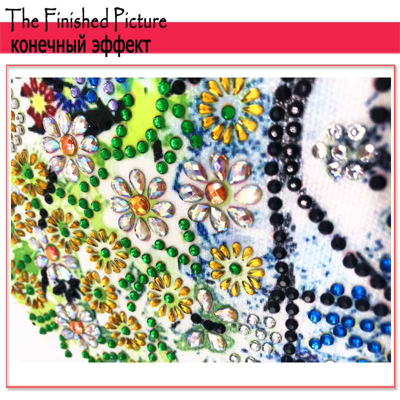 DIY 5D Diamond Embroidery Colorful Tree Butterfly Bead Diamond Painting Cross Stitch Pearl Crystal Sale Hobby Gift Decor 1 (7)