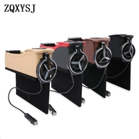 Multi função do assento de carro com carregador USB  caixa de armazenamento  a abertura do carro caixa de armazenamento  caixa de armazenamento interior Peças de ferramentas     -