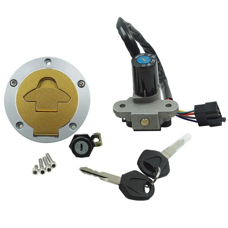 Interrupteur d'allumage de moto bouchon de gaz de carburant ensemble de clé couvercle de réservoir serrure de siège pour Ducati ST2 1998-2003 ST4 2000-2002 Cagiva mito125