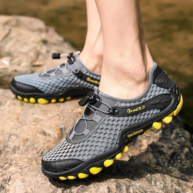 outdoor hiking shoes men Water and land quick-drying amphibious shoes trekking sneakers men safty shoes treking climbing shoes