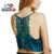 Mulheres Sexy Lace regatas verão 2016 moda V neck mangas blusa Camis Vest curto curto camisola tanque