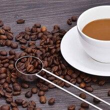 Ложка для кофе из нержавеющей стали с длинной ручкой, мерные ложки для кофе, сахар чай, мука, кухонная утварь H99F