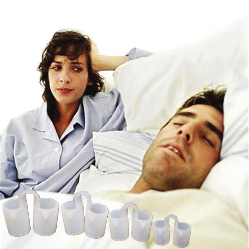 2 boîtes/lot efficace pratique Anti ronflement nez évents arrêter ronflement nez Clip soulager le bruit appareils nuit santé sommeil aide