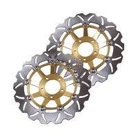 For SUZUKI GSXR 750 LIMITED EDITION 1989 1990 /GSXR750 1988 1995 /GSXR1100 1989 2000 Front Brake Disc Rotors Disk Motorbike Part
