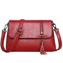 цена на Genuine  leather Handbag Women Cowhide Crossbody Bags Bolsos Mujer Female Shoulder Bag Ladies Fashion Small Boston Genuine