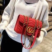 Brand C Women Chain Mini Messenger Bag Small Flap Handbag Girls Cute Coin Purse Bag Clutch Candy Color Kids Luxury Money Handbag