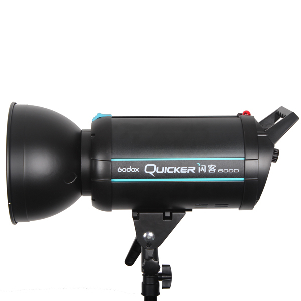 Top Quality GODOX Quicker 600 Pro Photography 600Ws High-speed Flash Studio Strobe light top high speed full teeth piston