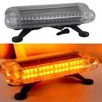80W Car LED Strobe Light Car Roof Traffic Light Bar for 12V 24V Automobiles Truck Trailer Flash Warning Lamp HEHEMM