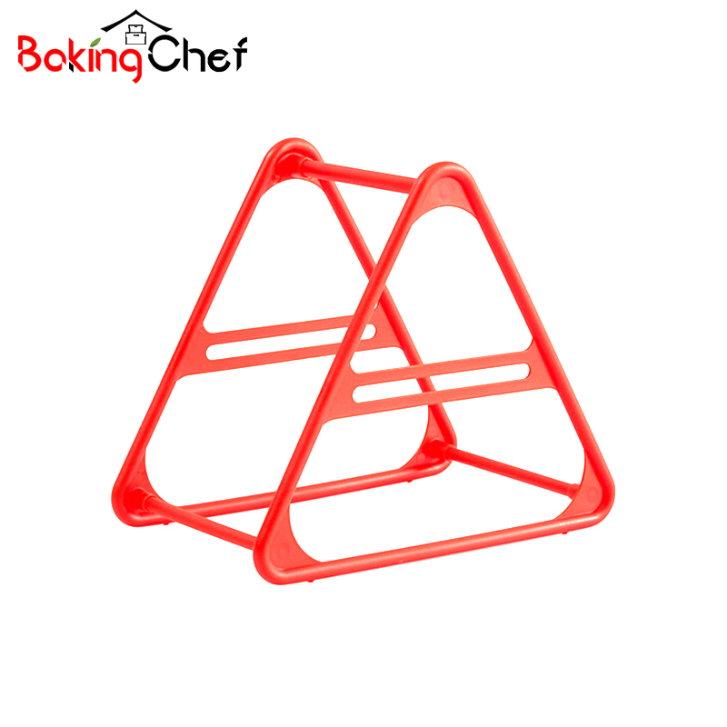 BAKINGCHEF Colorful Hanger Storage Rack Laundry Room Home Creative Neatly Cassified Organization Accessories Supplies Products